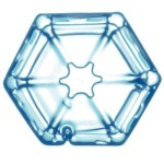Plaquette hexagonale
